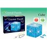 NY! DIY 3D crystal puzzle Cube mit phone Flash light Strap