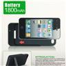 Backup Batteri Charger Pack + USB Cable för iPhone4 4S