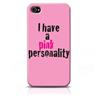 Skal iPhone 4/4S - I have a pink personality