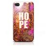 Skal iPhone 4/4S - HOPE lila blommor