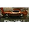 1976 Pontiac Firebird Trans Am rödmetallic skala 1:64