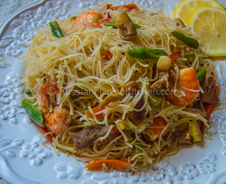 how to cook simple pancit malabon
