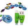 1 Meter LED Laddningskabel/Datakabel Micro-USB VIT