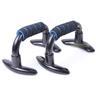 Bärbart set med push-up utrustning för träning Blå