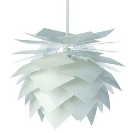 Dyberg-Larsen Taklampa Pineapple Vit XS