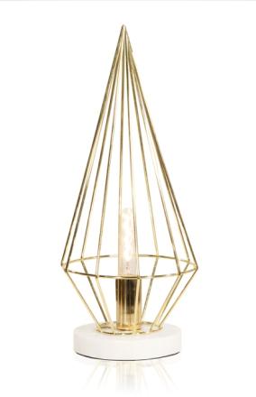 Globen Lighting Keops Bordslampa Mässing