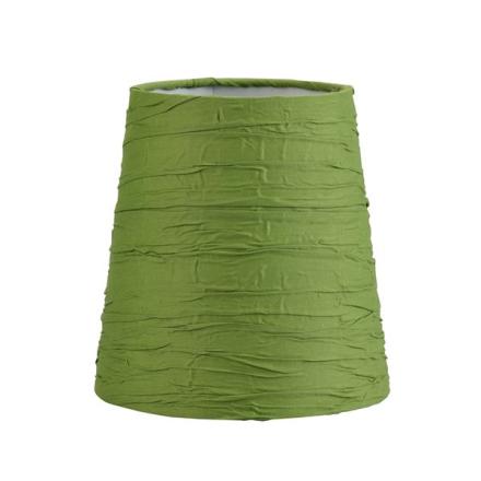 Oriva Lampskärm Rund Bomull 17 cm Grön