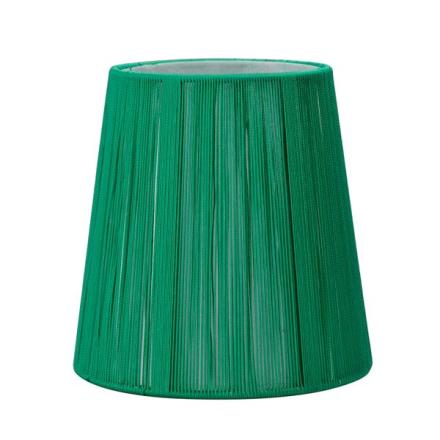 Oriva Lampskärm Rund Snöre 17 cm Grön