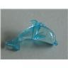 50st Akrylpärlor Delfiner 25mm - Aqua - Modell 7212