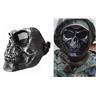 NEW Skull Army Mask Soft Air Gun Snowboard Motorcross m.m. Svart