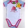 Baby Body Bodies Kläder Kille Tjej Sesam Sesamstreet Vit blå rosa 50/56 NY REA