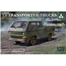 Takom 1/35 Volkswagen VW T3 Transporter Pick-up w/Crew Cab