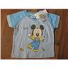 T shirt Tröja barn Disney Musse Ljusblå Musse plan giraff - 18 mån THN