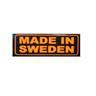 Skämtdekal Made In Sweden.