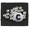 Bokstavspärlor 100st C alfabet pärlor bokstäver
