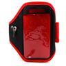 (Röd) Sport armband till alla mobil