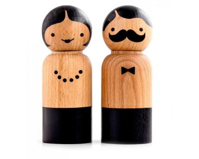 Salt och pepparkvarn - Mr & mrs
