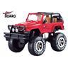 NYHET Torro RC Jeep 4x4 WD Cross Country Bil Skala 1/10 Färg Röd