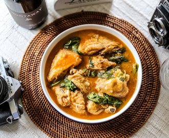 how to make chicken kare kare