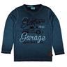 ny metoo 10 år=140 tröja snyggt blå med biltema