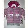 Skön grå rosa munk jacka tröja stl 92 Randig Retro Nyhet KMCM Design Present