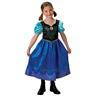 Anna 98-104cl (3-4 år) Frozen Frost SNOW QUEEN klänning Prinsessa