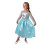 Elsa 110-116cl (5-6 år) Frozen Frost SNOW QUEEN klänning Prinsessa