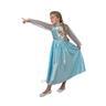 Elsa 134-140 cl (9-10 år) Frozen Frost SNOW QUEEN klänning Prinsessa