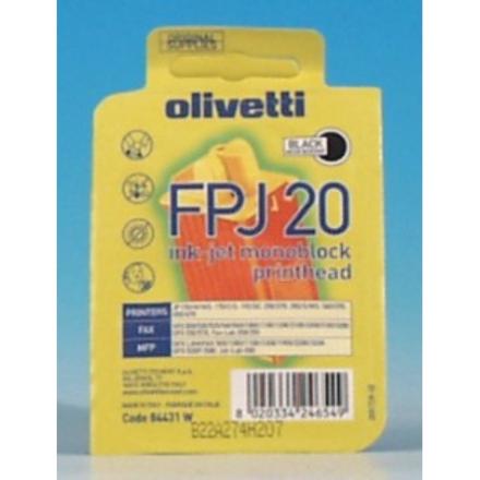 Olivetti bläckpatron FPJ20 Svart 360 sidor