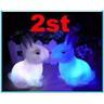 NEW!2st Kaninlampa nattlampa kanin till barnrummet/lekstugan