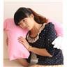 Mjuk och skön Armformad Arm Formad kudde Resekudde Pink