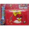 ANGRY BIRDS Set med Klocka och Plånbok Angry Bird Röd + Blå - KP1