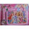 BARBIE Princess Set med Klocka och Plånbok Ljusrosa Ljusrosa KP1