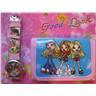 Girls BRATZ dolls Set Klocka + Plånbok ROSA KP2