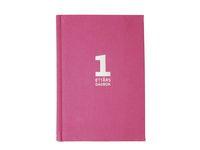 Dagbok 1-års linne rosa - 1090