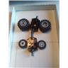 lego kjul däck fälg hjulaxel nytt
