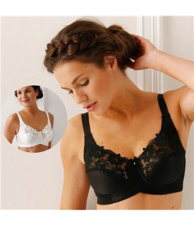 Miss Mary of Sweden - Miss Mary Underwired bra 2870 E Black