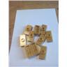 lego nytt guld hållare kakel med fäste