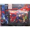 Disney Big Hero 6 - Set med Klocka och Plånbok Svart blå KP1