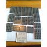 lego nytt 16st mörkgrå platta plattor