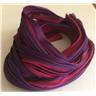 Shibori Silke 20cm, rödlila toner