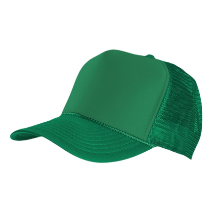 MasterDis Special Baseball Cap Trucker high profile Men Trucker Cap Green Calypso