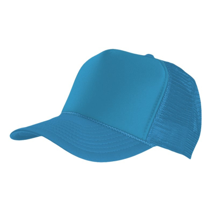 MasterDis Special Baseball Cap Trucker high profile Men Trucker Cap turquoise
