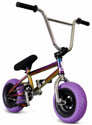 Mini BMX - Oilslick Pro Rainbow/​Purple