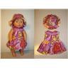 Ny klänning och hatt till My Little Baby Born docka, 32 cm