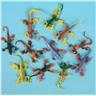 NY! 10PCs 3D soft ödla Lizard