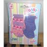 Baby Born - 2-pack Rosa Lila strumpor Till Docka