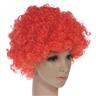 SKU00094Party Disco Rainbow Afro Clown Hair Football Fan Adult Child Curly Wig