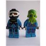 Lego Figur Figurer - Samlingsfigurer - 2st Figurer FKL 1393