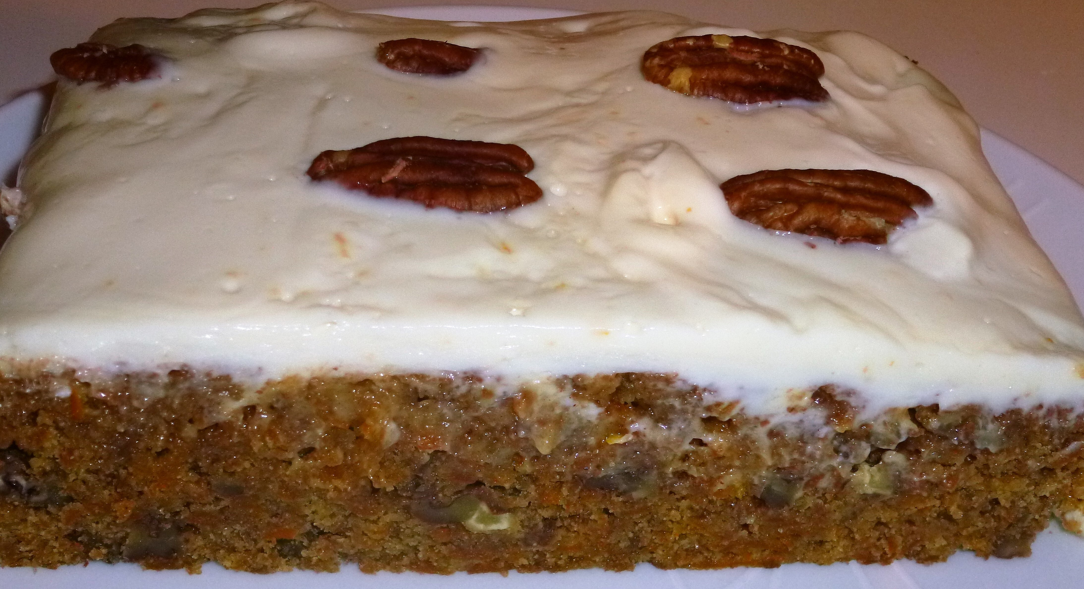 Skinny Whole Wheat Carrot Cake Recipe